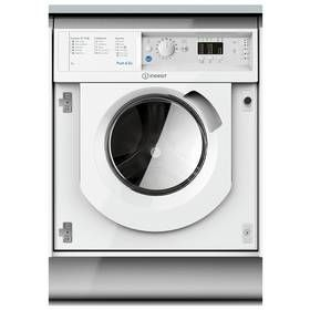 Indesit WMIL71452 Integrated 7KG 1400 Washing Machine -White Best Price, Cheapest Prices