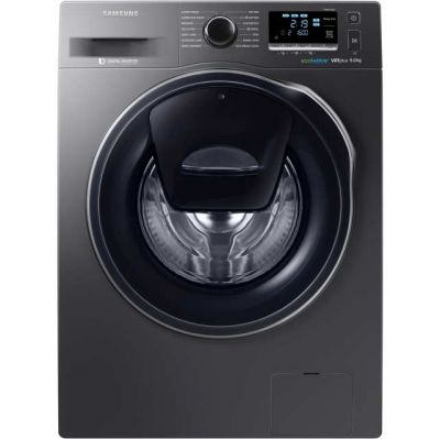 Samsung AddWash™ ecobubble™ WW90K6610QX 9Kg Washing Machine with 1600 rpm - Graphite - A+++ Rated Best Price, Cheapest Prices
