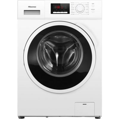 Hisense WFBJ90121 9Kg Washing Machine with 1200 rpm - White - A+++ Rated Best Price, Cheapest Prices