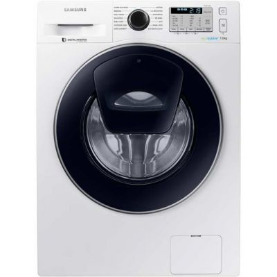 Samsung AddWash™ ecobubble™ WW70K5413UW 7Kg Washing Machine with 1400 rpm - White - A+++ Rated Best Price, Cheapest Prices