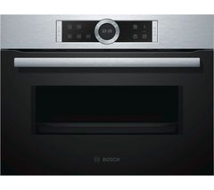 BOSCH Bosch CFA634GS1B Solo Microwave - Stainless Steel Best Price, Cheapest Prices