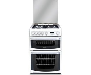 Cannon by Hotpoint CH60GCIW 60cm Gas Cooker with Variable Gas Grill - White Best Price, Cheapest Prices