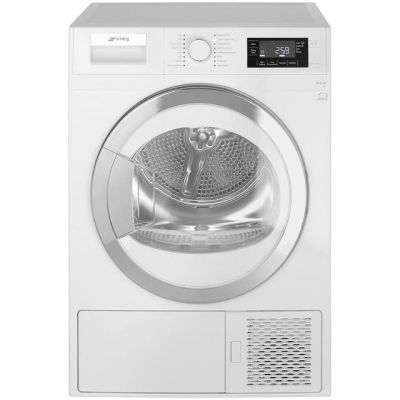 Smeg DRF81AUK 8Kg Heat Pump Tumble Dryer - White - A+ Rated Best Price, Cheapest Prices