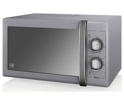 SWAN Retro SM22070GRN Solo Microwave - Grey Best Price, Cheapest Prices