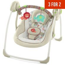 Ingenuity Portable Swing - Cozy Kingdom By Ingenuity Best Price, Cheapest Prices