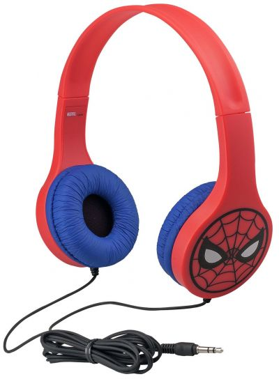 Spiderman On-Ear Kids Headphones Best Price, Cheapest Prices