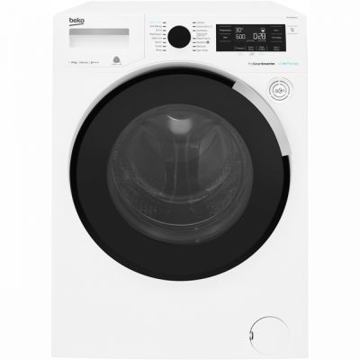 Beko WY104PB44TW 10Kg Washing Machine with 1400 rpm - White - A+++ Rated Best Price, Cheapest Prices
