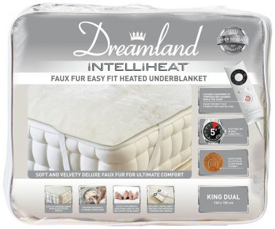 Dreamland Intelliheat Dual Electric Underblanket - King Best Price, Cheapest Prices