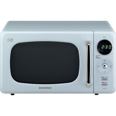 Daewoo KOR9LBKBLR 20 Litre Microwave - Blue Best Price, Cheapest Prices