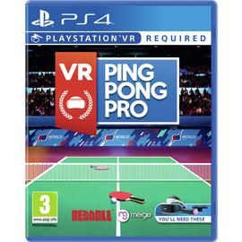 VR Ping Pong Pro PS VR Pre-Order Game (PS4) Best Price, Cheapest Prices