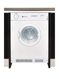 White Knight C43AW 6kg Load Integrated Vented Tumble Dryer - White Best Price, Cheapest Prices