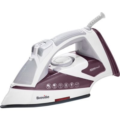 Breville PowerSteam Advanced 3000W VIN405 3000 Watt Iron -Plum Best Price, Cheapest Prices
