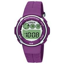 Lorus Ladies' Digital Purple Strap Watch Best Price, Cheapest Prices