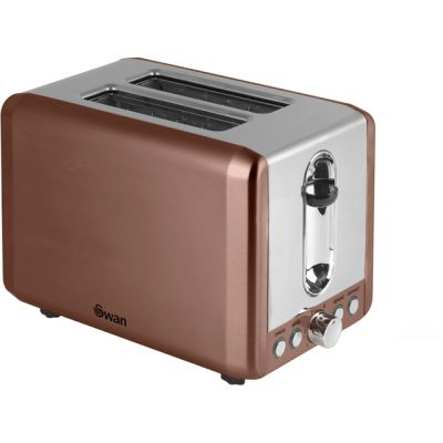 Swan ST14040COPN 2 Slice Toaster - Copper Best Price, Cheapest Prices