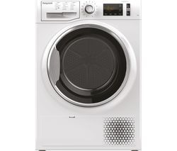 HOTPOINT ActiveCare NT M11 82XB UK 8 kg Heat Pump Tumble Dryer - White Best Price, Cheapest Prices