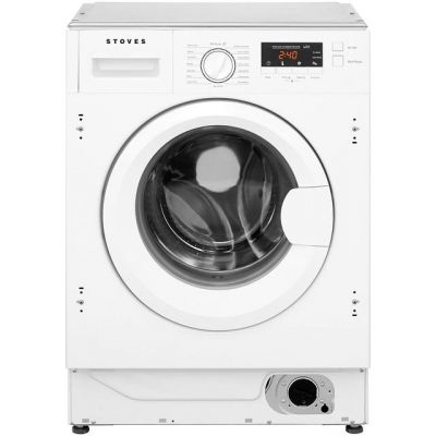 Stoves IWM8KG Integrated 8Kg Washing Machine with 1400 rpm - A+++ Rated Best Price, Cheapest Prices