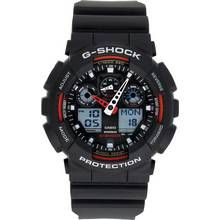 Casio G-Shock Men's Black Resin Strap World Time Watch Best Price, Cheapest Prices