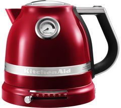 KITCHENAID Artisan 5KEK1522BCA Traditional Kettle - Red Best Price, Cheapest Prices