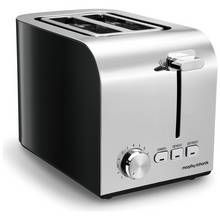 Morphy Richards 222054 Equip 2 Slice Toaster - Black Best Price, Cheapest Prices