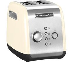 KITCHENAID 5KMT2116BAC 2-Slice Toaster - Cream Best Price, Cheapest Prices