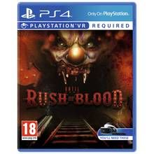 Until Dawn: Rush of Blood PS4 Game Best Price, Cheapest Prices