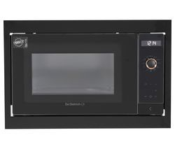 DE DIETRICH DME7121A Built-in Solo Microwave - Black Best Price, Cheapest Prices