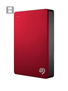 Seagate 5Tb Backup Plus Portable with Optional 2 Year Data Recovery Plan - Red Best Price, Cheapest Prices