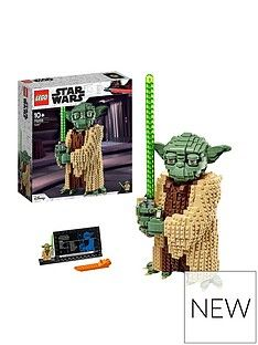Lego Star Wars 75255 Yoda&Trade; Figure Attack Of The Clones Best Price, Cheapest Prices
