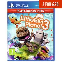 Little Big Planet 3 PS4 Hits Game Best Price, Cheapest Prices