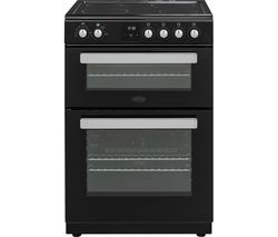 BELLING FSE608DPc 60 cm Electric Ceramic Cooker - Black Best Price, Cheapest Prices