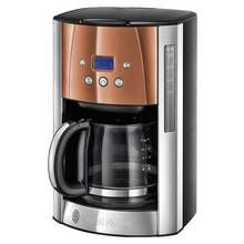 Russell Hobbs Luna Filter Coffee Machine - Copper Best Price, Cheapest Prices