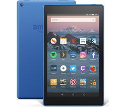 AMAZON Fire HD 8 Tablet (2018) - 16 GB, Blue Best Price, Cheapest Prices