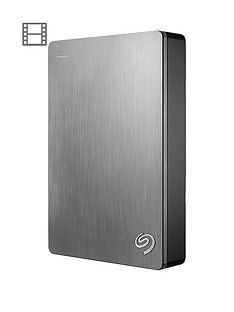 Seagate 5Tb Backup Plus portable with Optional 2 Year Data Recovery Plan - Silver Best Price, Cheapest Prices