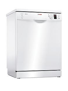 Bosch Serie2 SMS25AW00G 12-Place Full Size Dishwasher with ActiveWater™ Technology - White Best Price, Cheapest Prices