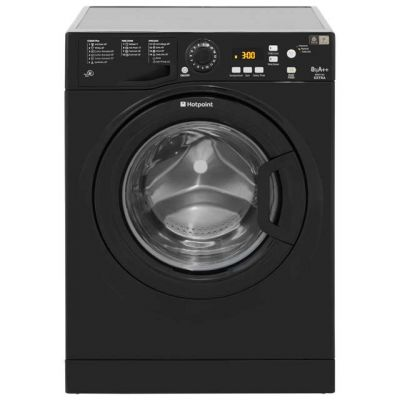 Hotpoint Extra WMXTF842K 8Kg Washing Machine with 1400 rpm - Black - A++ Rated Best Price, Cheapest Prices