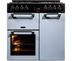 LEISURE Cookmaster 90 Dual Fuel Range Cooker - Blue Best Price, Cheapest Prices