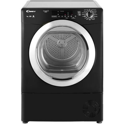 Candy Grand'O Vita GVSC9DCGB 9Kg Condenser Tumble Dryer - Black - B Rated Best Price, Cheapest Prices
