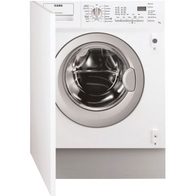 AEG Lavamat L61470BI Integrated 7Kg Washing Machine with 1400 rpm - A++ Rated Best Price, Cheapest Prices