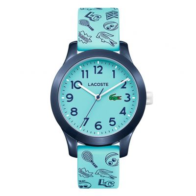 Lacoste Childrens Blue Silicone Strap Watch Best Price, Cheapest Prices