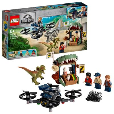 LEGO Jurassic World Dilophosaurus on the Loose Set 75934 Best Price, Cheapest Prices