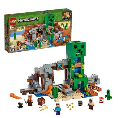 LEGO Minecraft The Creeper Mine Playset - 21155 Best Price, Cheapest Prices