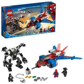 LEGO Marvel Spider-Man Jet vs. Venom Mech Playset - 76150/t Best Price, Cheapest Prices