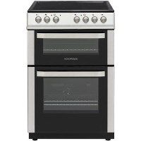 Nordmende CDEC61IX 60cm Double Cavity Electric Cooker With Ceramic Hob - Stainless Steel Best Price, Cheapest Prices