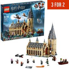 LEGO Harry Potter Hogwarts Great Hall Toy - 75954 Best Price, Cheapest Prices