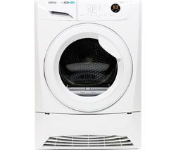 ZANUSSI ZDH8333W Heat Pump Tumble Dryer - White Best Price, Cheapest Prices