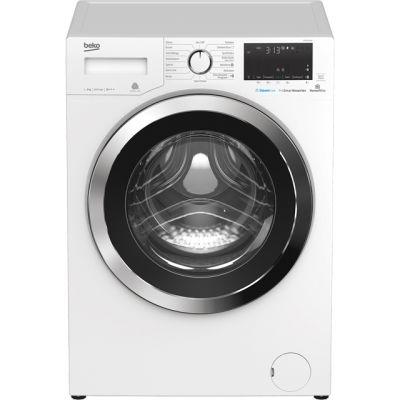 Beko WY96044W 9Kg Washing Machine with 1600 rpm - White - A+++ Rated Best Price, Cheapest Prices