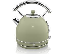 SWAN Retro SK34021GN Traditional Kettle - Green Best Price, Cheapest Prices