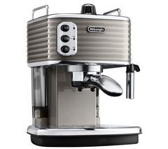 DELONGHI Scultura ECZ351BG Espresso Machine - Champagne Best Price, Cheapest Prices