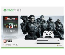 MICROSOFT Xbox One S with Gears 5 Bundle - 1 TB Best Price, Cheapest Prices