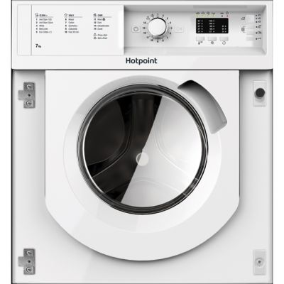 Hotpoint BIWMHL71453UK Integrated 7Kg Washing Machine with 1400 rpm - A+++ Rated Best Price, Cheapest Prices